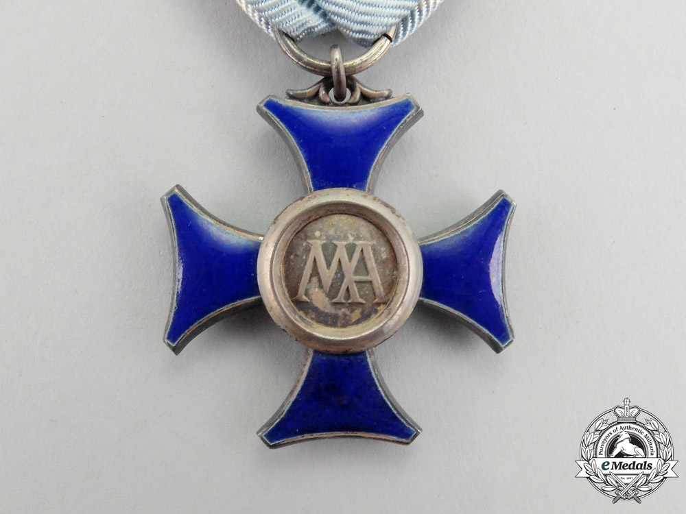Saxony. A 1913-1918 Issue Maria-Anna Order Cross Third Class by G.A. Scharffenberg