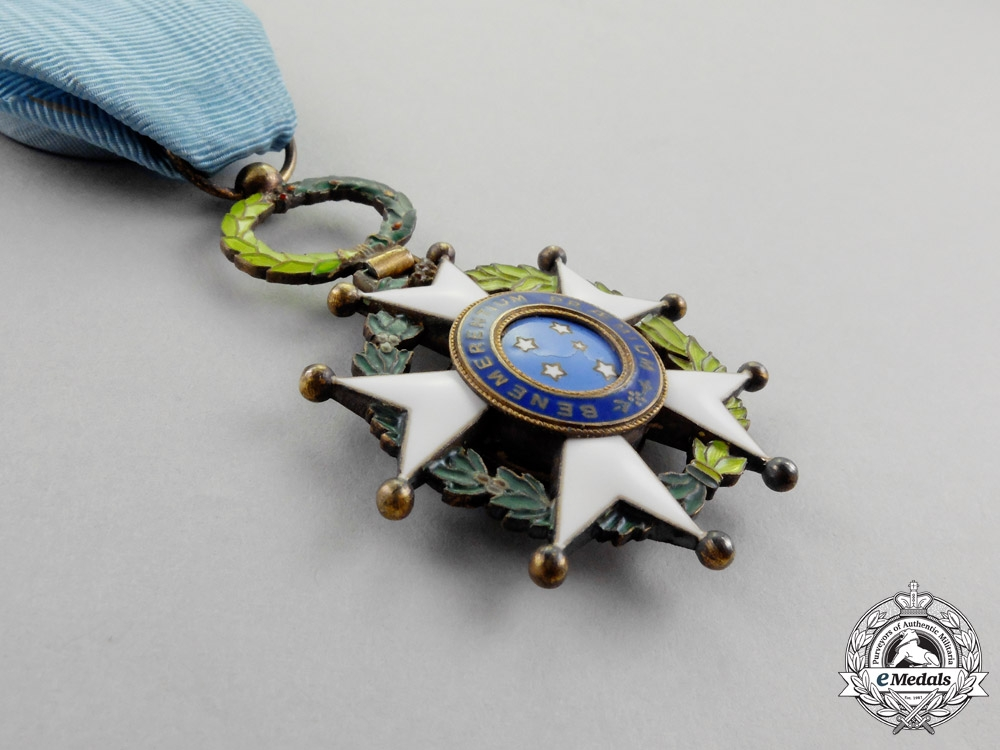 Brazil. A National Order of the Southern Cross, Officer, Type II (post 1932)