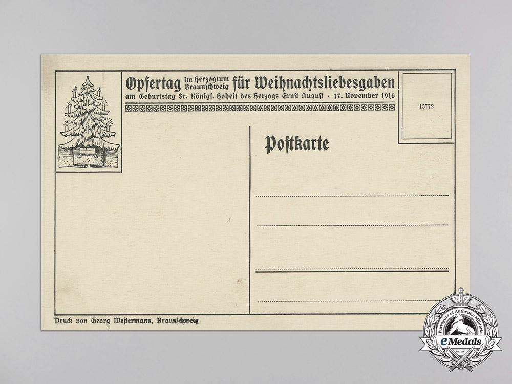 Five First War German Imperial Airmen Postcards