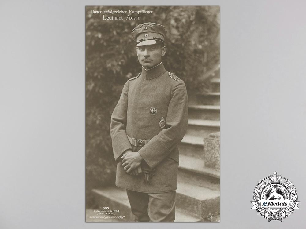 Six First War German Imperial Airmen Postcards