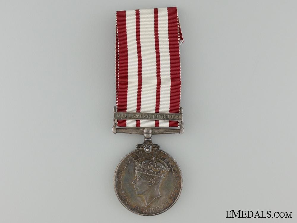 Naval General Service Medal 1915-62; Palestine 1956-59