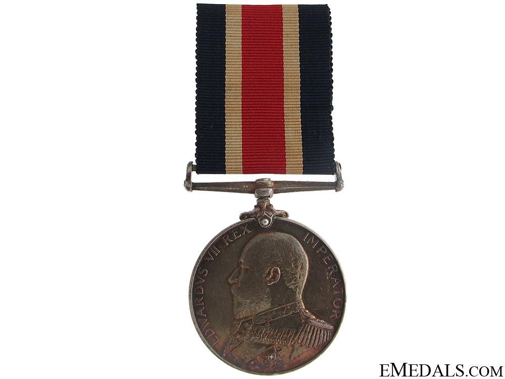Naval Good Shooting Medal