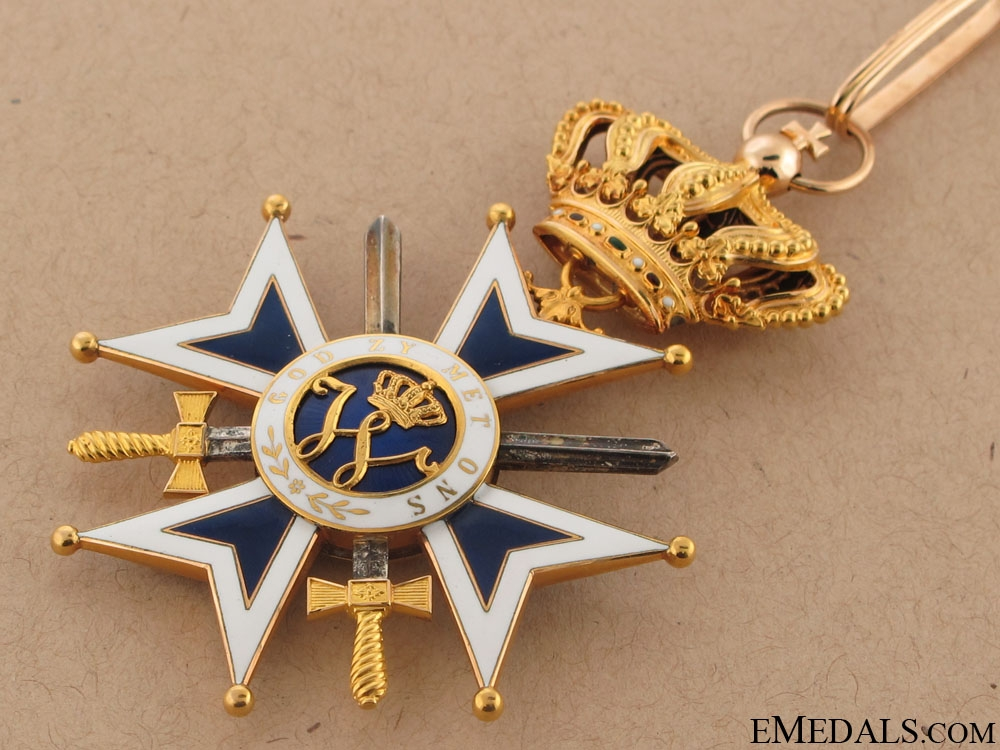 Order of Orange-Nassau, Military – Gold