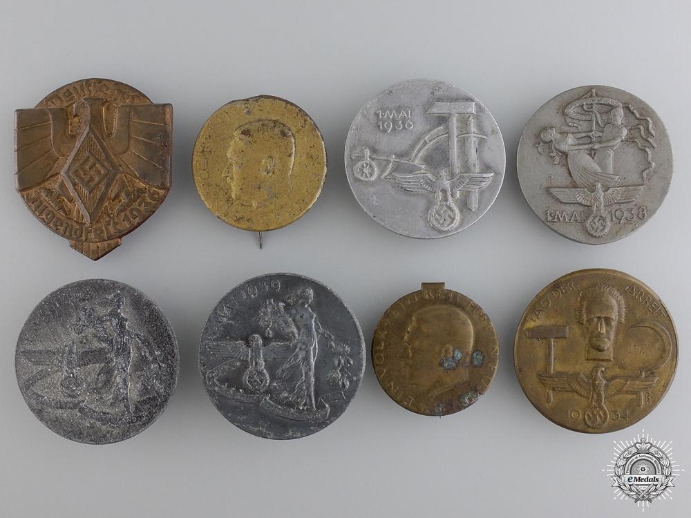 Eight Second War German Tinnies
