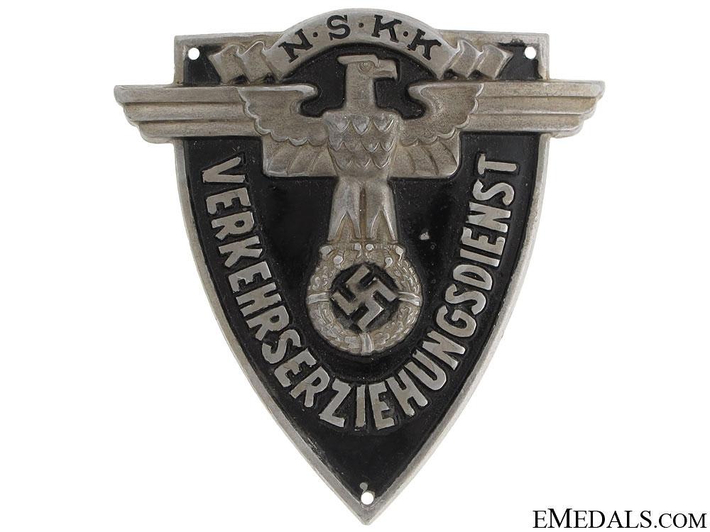 NSKK Traffic Education Service Badge