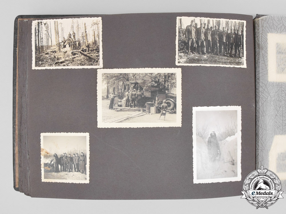 The Wartime Photo Album & Documents to DKiG & Gold CCC Recipient Oberleutnant Kayser