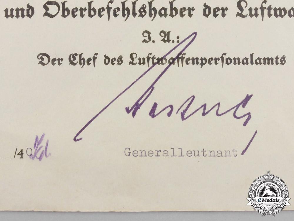 An Extensive Document Collection to Unteroffizier Scheuringer; Battle of Britain POW