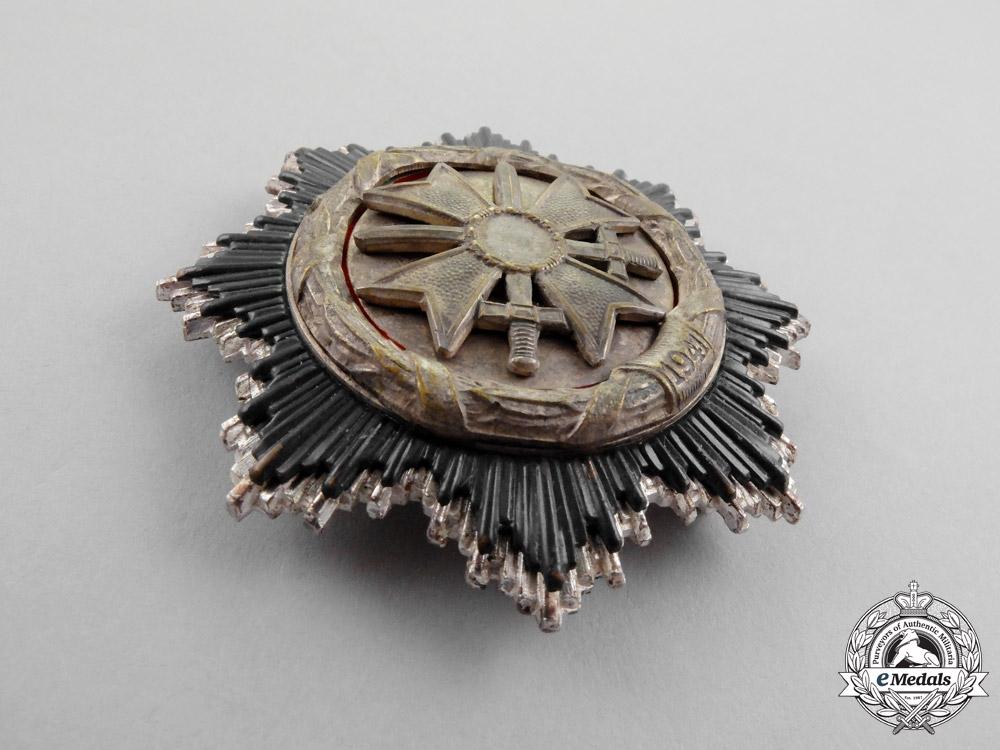 An Early German Cross in Silver; 1957 Version