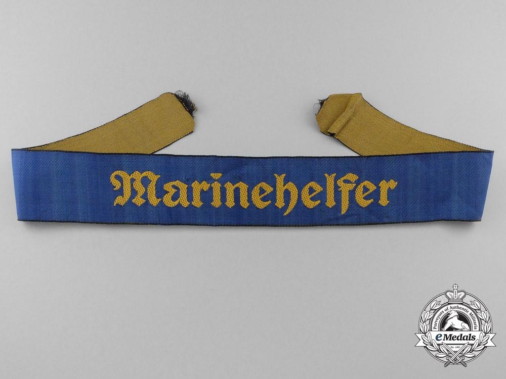 A Marinehelfer Cufftitle