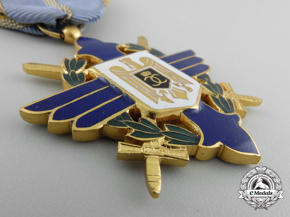 A Second War Romanian Order of Aeronautical Virtues (Merit)
