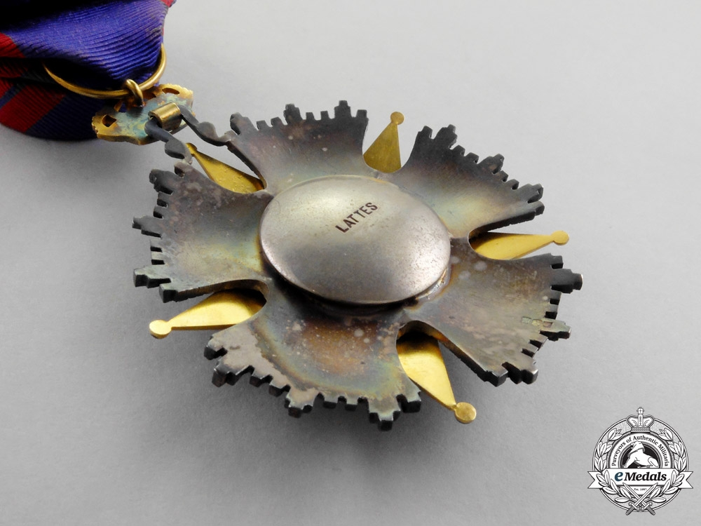 Egypt. A French-Made Order of Ismail, Officer by Lattes