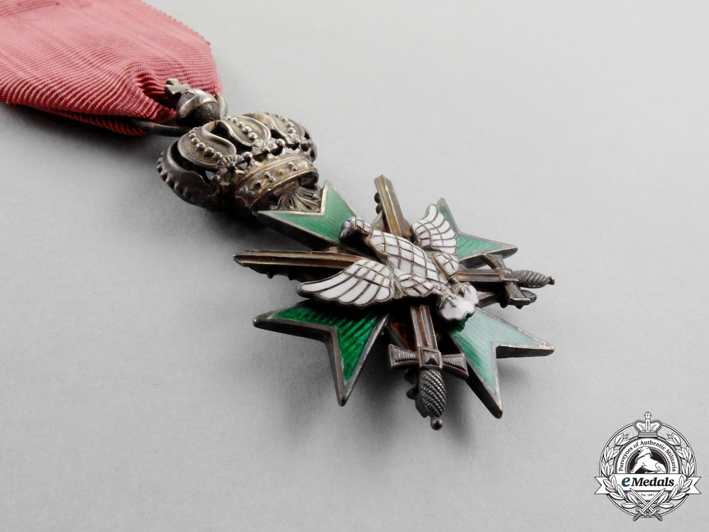 """"""" Saxon-Weimar. A 1902-1918 Issue Order of the White Falcon Knight's Cross Second Class """""""