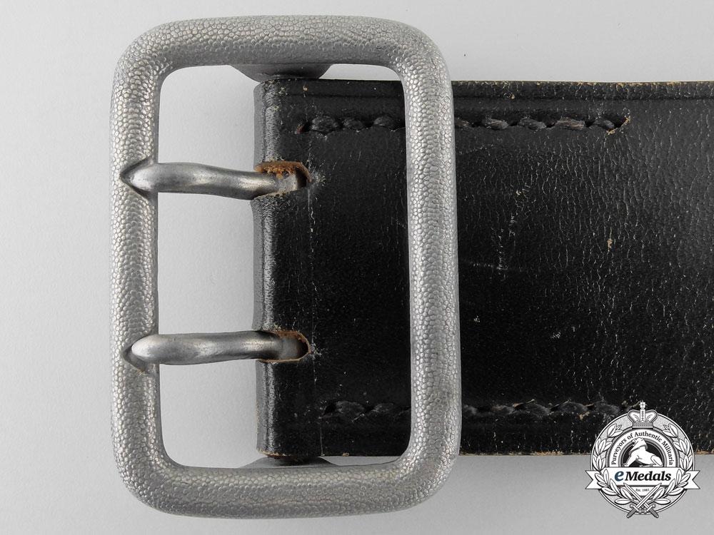 A Double Open-Claw Buckle with Belt by Paulmann & Crone, Lüdenscheid