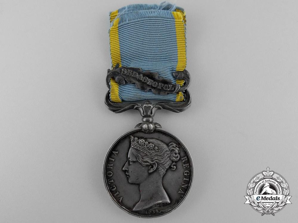 A Crimea Medal to R. Bean; 2nd Battalion Rifle Brigade