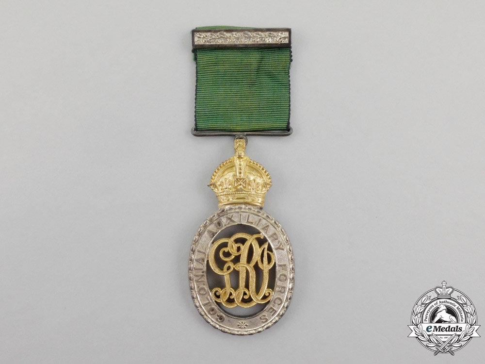 Canada. A Colonial Auxiliary Forces Officers' Decoration, Black Watch
