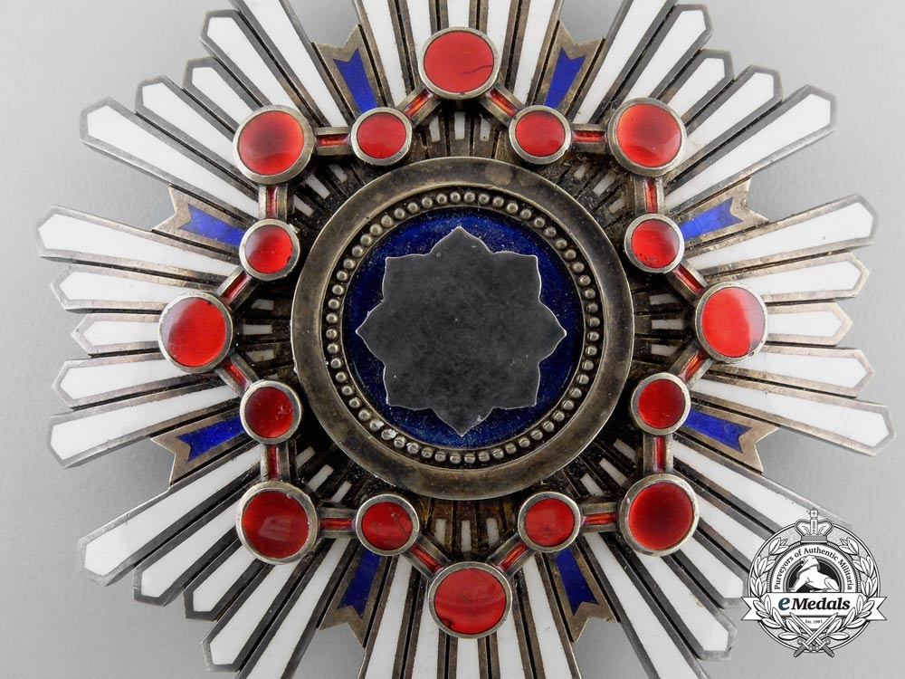 Japan, Empire. An Order of the Sacred Treasure, I Class Star, c.1930