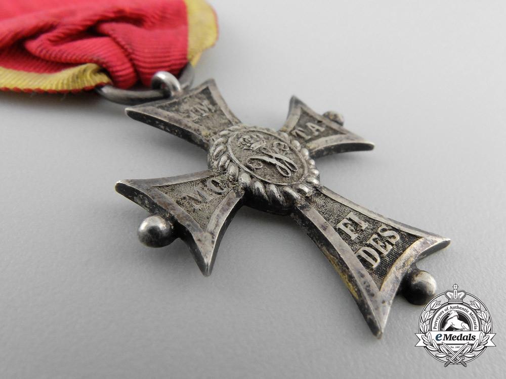 An Order of Henry the Lion of Brunswick; Merit Cross Second Class