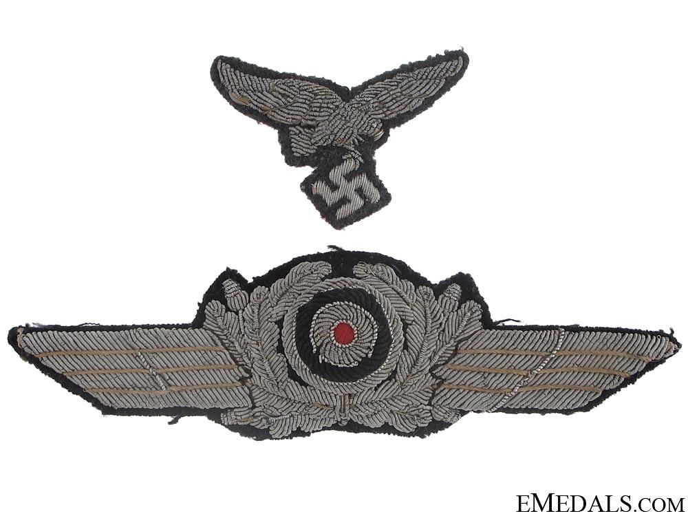 """Officer""""¢¯s Visor Wreath & Eagle"""