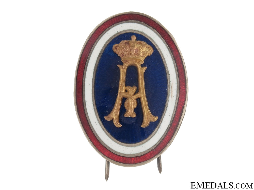 Officer's Cap Badge Alexander I