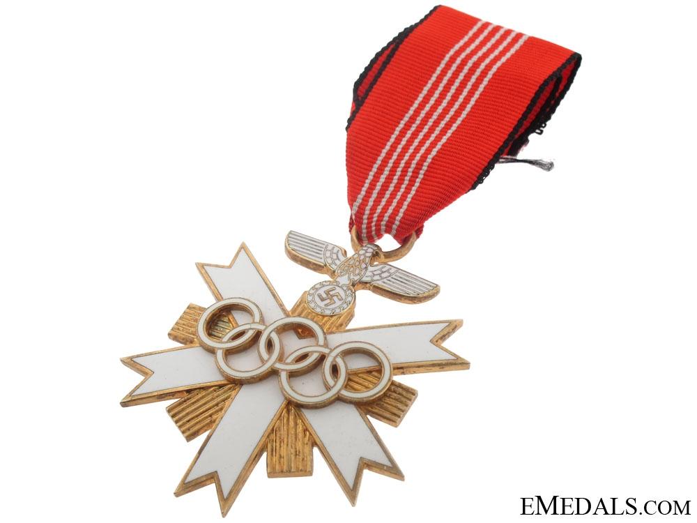 German Olympic Cross, Olympic Games 1936