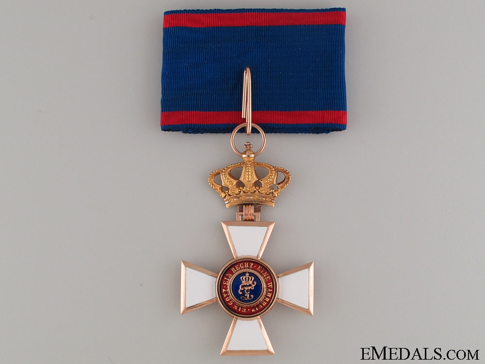 Order of Peter Friedrich Ludwig-Commander's Cross