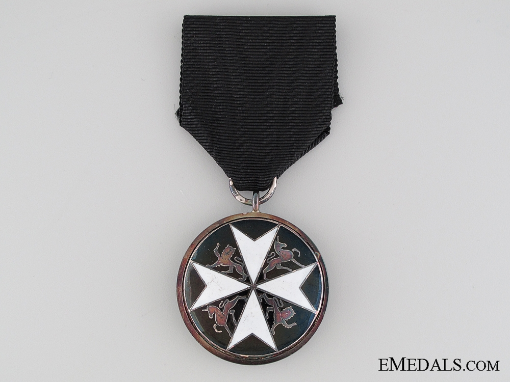 Order of St. John Serving Brother Breast Badge