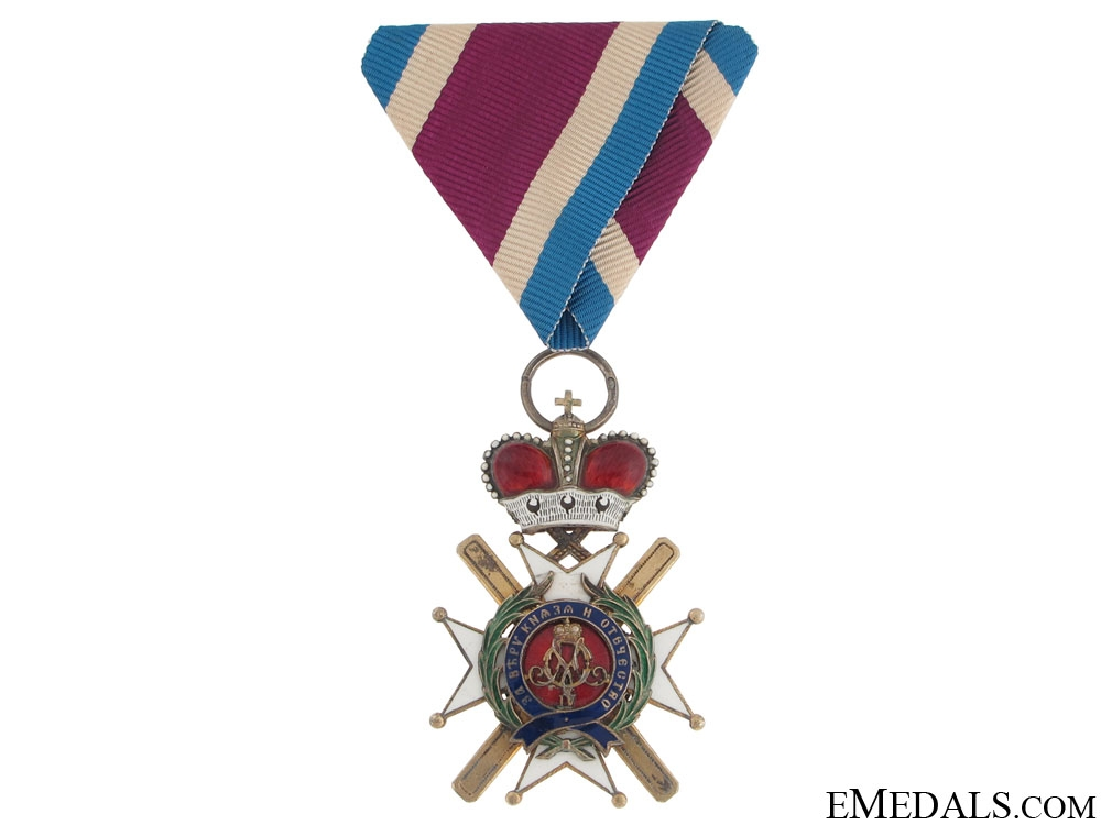 Order of Takovo - 5Th. Class