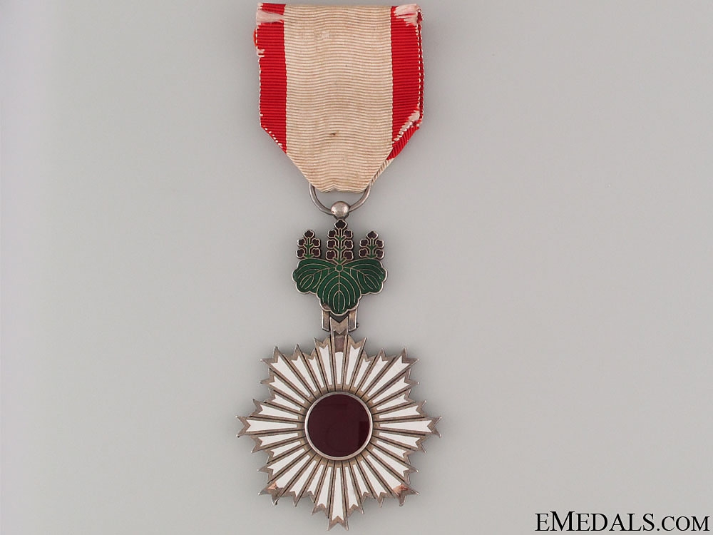 Order of the Rising Sun - 5th Class