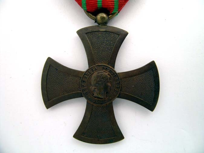 WAR CROSS 1917 - Medalha da Cruz de Guerra