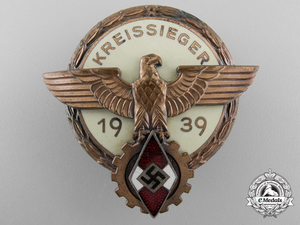 A Victors Badge in the National Trade Competition by H. Aurich