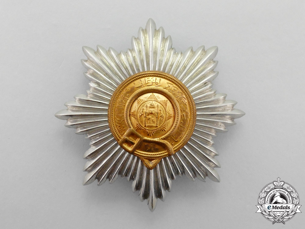 Afghanistan. A British-Made Afghan Order of the Star (Nishan-i-Astour), 2nd Class Breast Star, Type III (1926-1929)