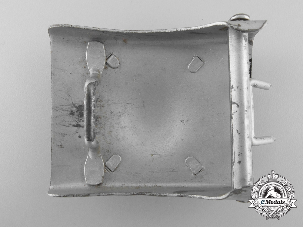 Germany. A Neutral Police Belt Buckle
