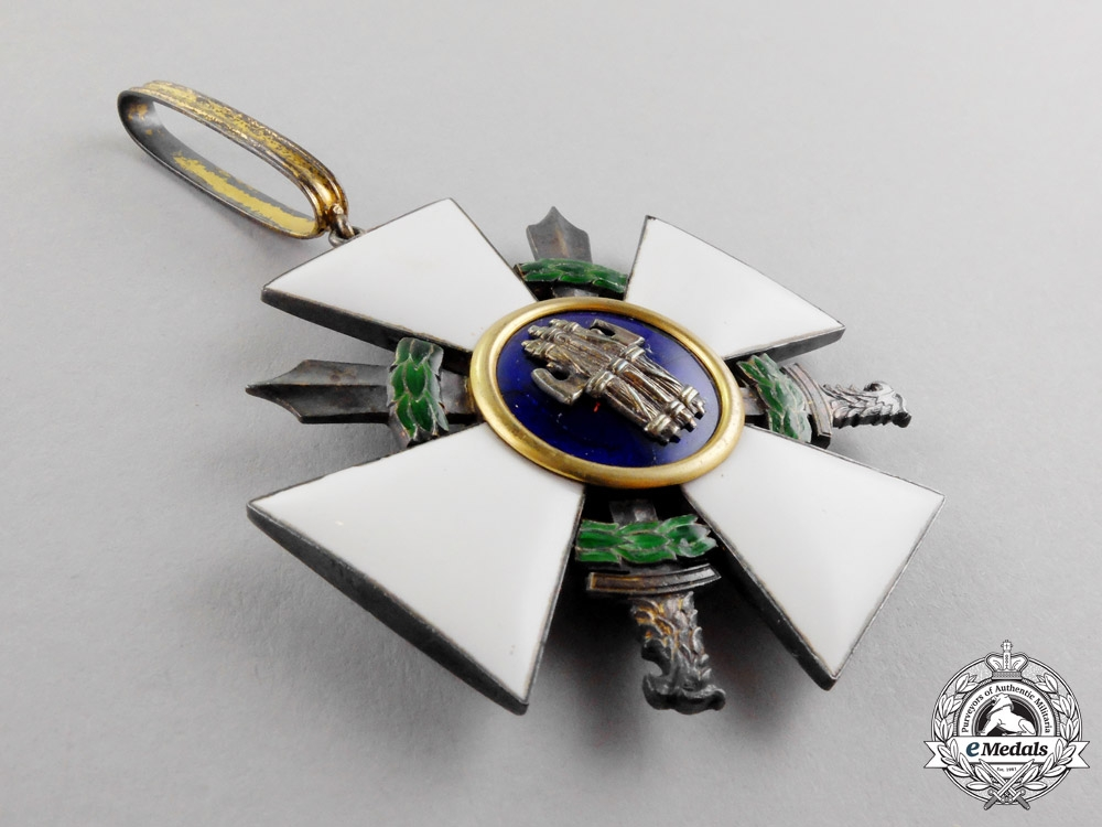 Italy. An Order of the Roman Eagle, 3rd Class, Commander with Swords, Military Division, Type I (1942-1943)