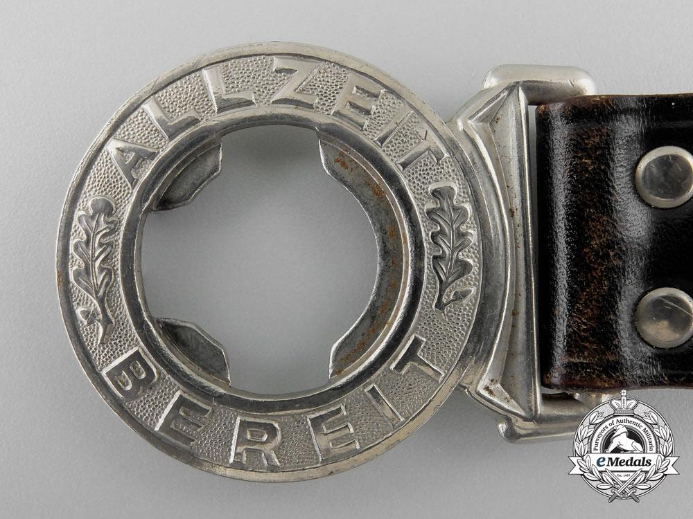 A German Boy Scouts (Pfadfinderbund) Belt with Buckle; Published Example