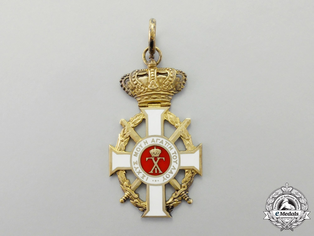 Greece. A Royal Order of George I, Military Division with Swords, Grand Cross by Spinks