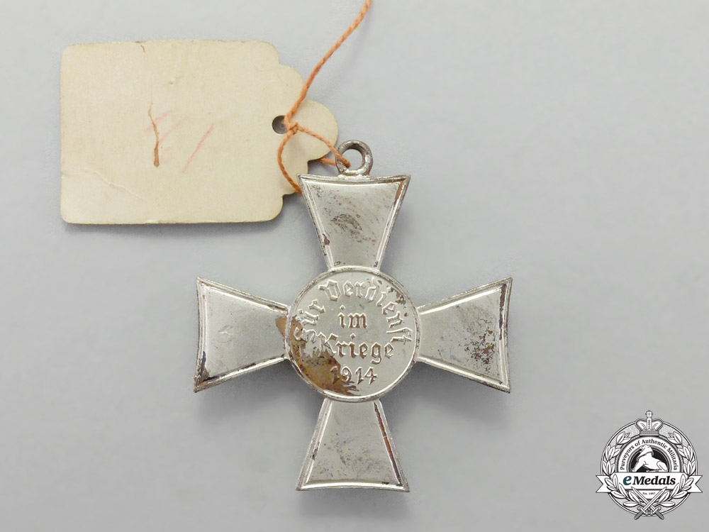 Prussia. A Pair of First War Awards
