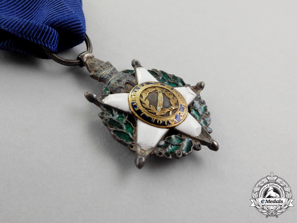 Portugal. A British-Made Order of the Tower and Sword, Knight