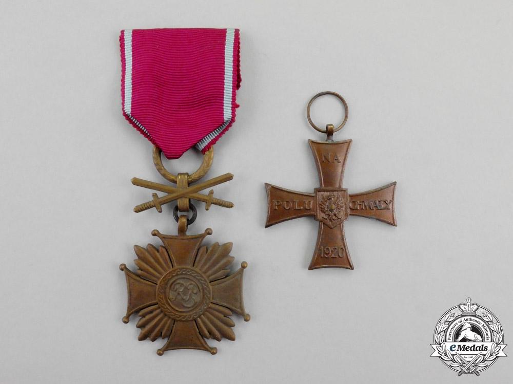 Poland, Republic. A Pair of Awards & Decorations