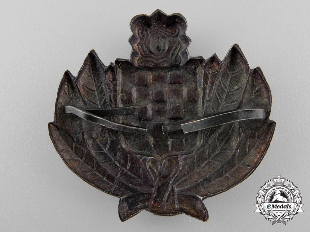 A Croatian Treasure Guard Badge