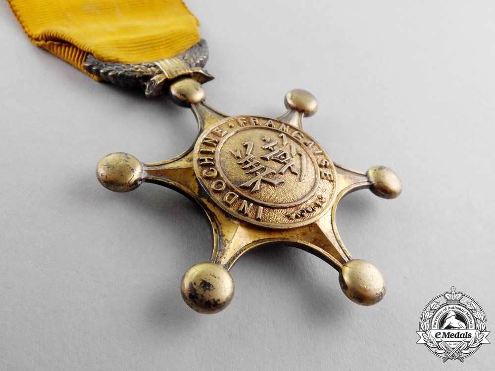 FRENCH INDOCHINA. An Indochinese Order of Merit, I class (INDOCHINE FRANÇAISE.