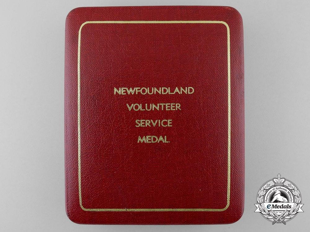 A Case for a Newfoundland Volunteer Service Medal