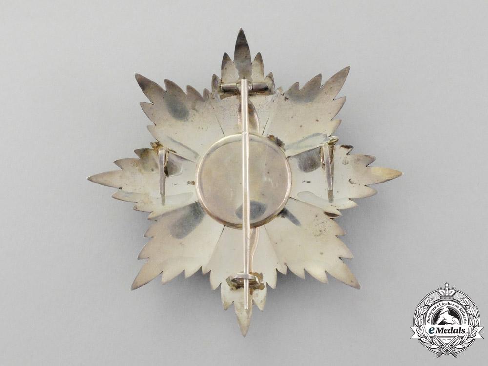 Albania, Kingdom. An Order of Skanderbeg, Grand Officer's Star, c.1935