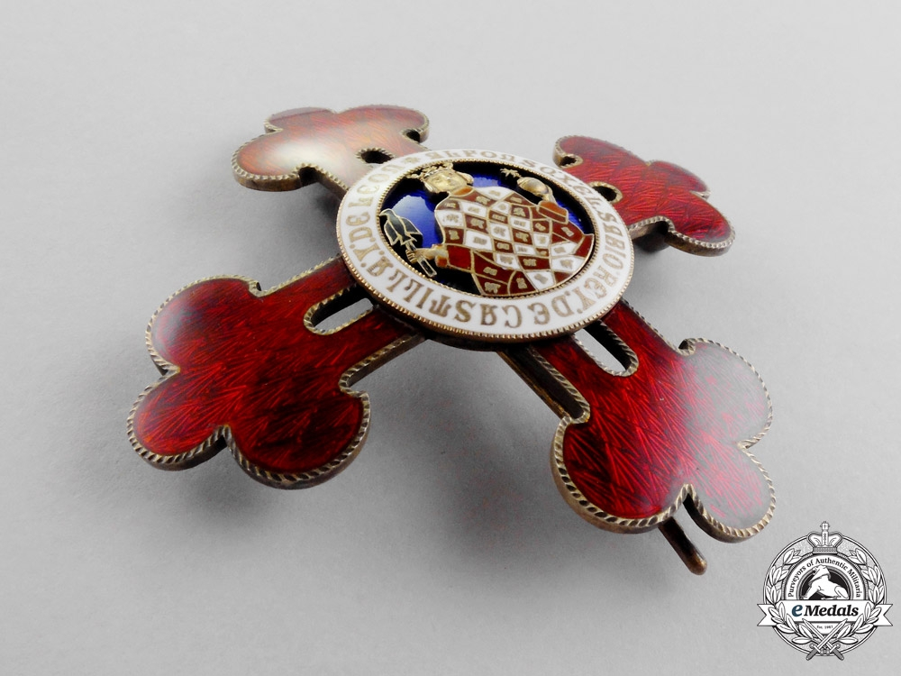Spain. A Civil Order of Alfonso X the Wise, Grand Cross Breast Star