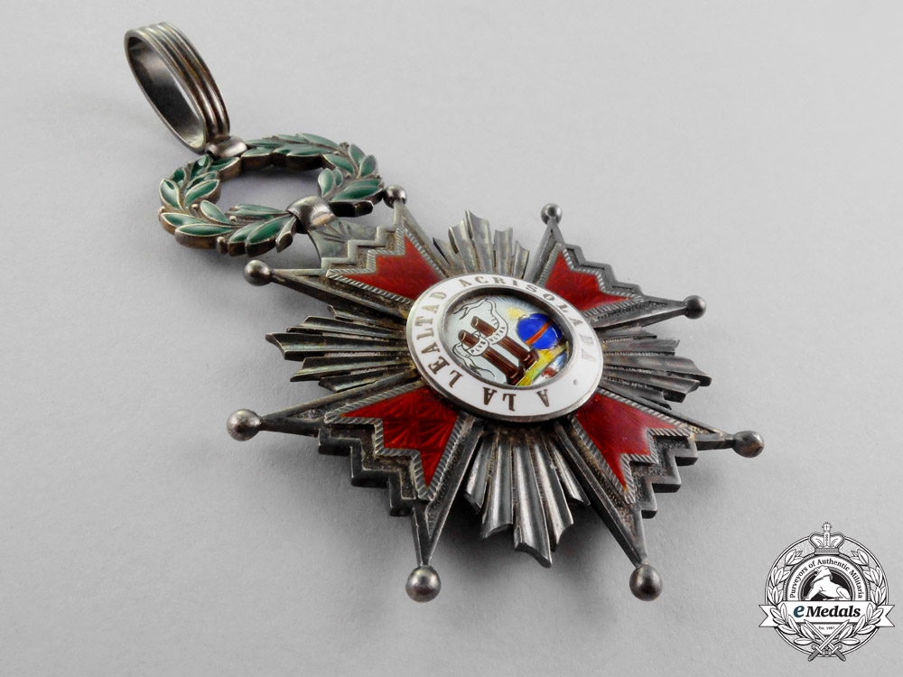 Spain, Kingdom. An Order of Isabella the Catholic, Commander, c.1960