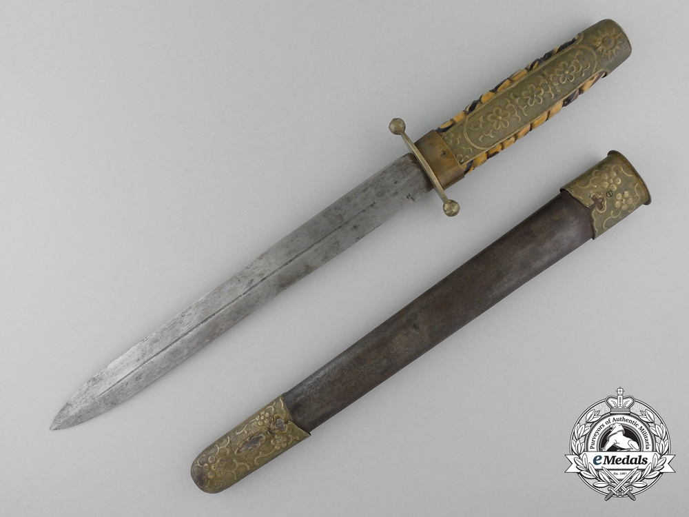 A Chinese Republic Kuomintang Army Officer's Dagger 1927-1948