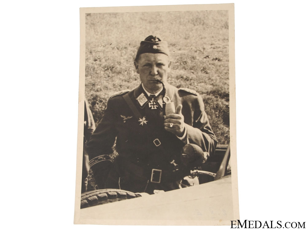 Photograph of a Luftwaffe Knight's Cross Winner