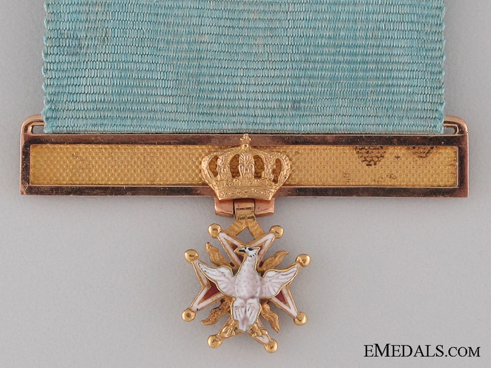 A Superb Miniature Order of the White Eagle c.1800