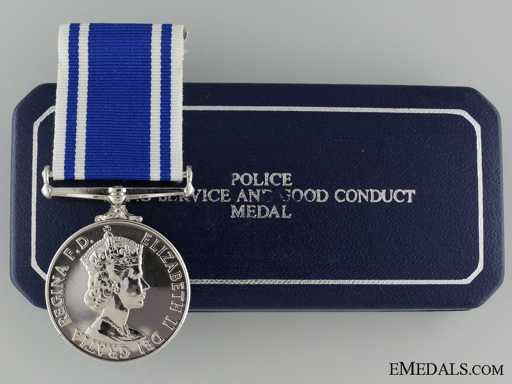 Police long Service and Good Conduct Medal to Inspector Collins