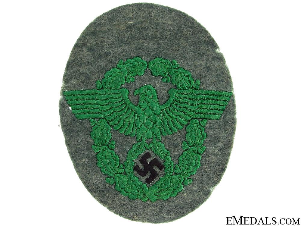 Police Sleeve Eagle
