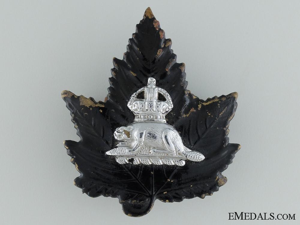 Pre-WWII King's Crown Police (Bobby Helmet) Cap Badge